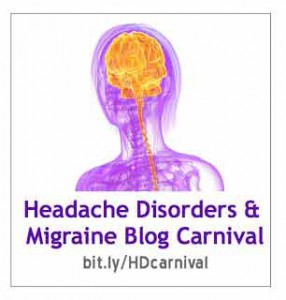 Headache Disorders & Migraine Blog Carnival logo