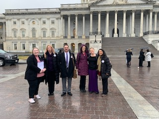 TeamArizona at Headache on the Hill 2020: Jenn Tingwald, Amy Tees, Don Vanderpool, Jamie Valendy, Kerrie Smyres, and Amaal Starling